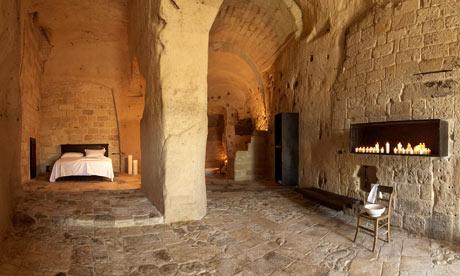 Отель Le Grotte della Civita в Матере